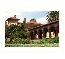 Flagler College, St. Augustine, FL Art Print