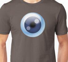 Crazy Blue Eyeball Unisex T-Shirt