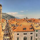 The roofs of Dubrovnik by Thea 65