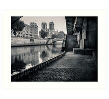 Notre dame - Paris Art Print