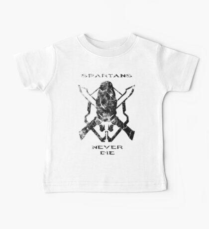 Spartans Never Die Baby Tee