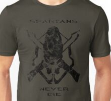 Spartans Never Die Unisex T-Shirt