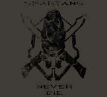 Spartans Never Die - Halo T-Shirt