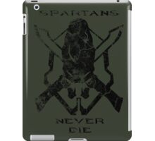 Spartans Never Die - Halo iPad Case/Skin