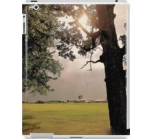 Tree Over Farm iPad Case/Skin