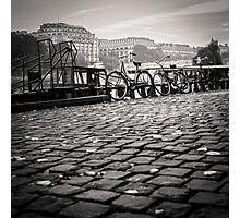 Bikes on the Seine Photographic Print