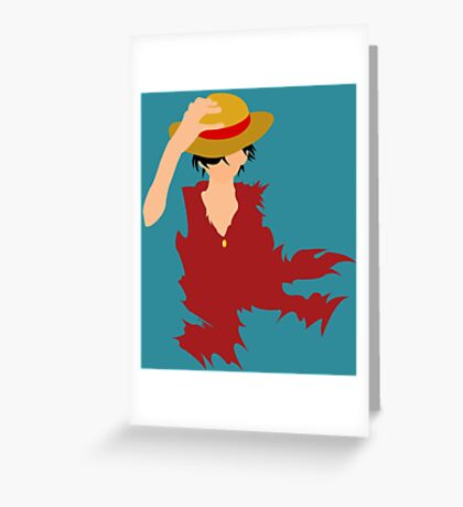 Luffy  Greeting Card