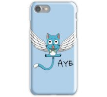"<FAIRY TAIL> Happy ""Aye"" iPhone Case/Skin"