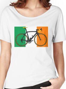 Bike Flag Ireland (Big - Highlight) Women's Relaxed Fit T-Shirt