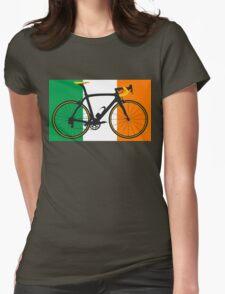 Bike Flag Ireland (Big - Highlight) Womens Fitted T-Shirt
