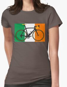 Bike Flag Ireland (Big - Highlight) Womens Fitted T-Shirt