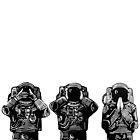 Three Monkeys  by Ieuan  Edwards