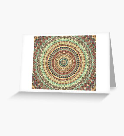 Mandala 178 Greeting Card