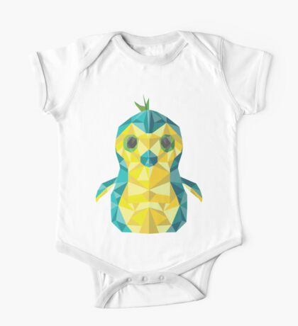 Hatched - penguin - second color One Piece - Short Sleeve