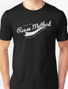 Person of Interest - Original Reese Method of Kneecapping (white lettering) T-Shirt