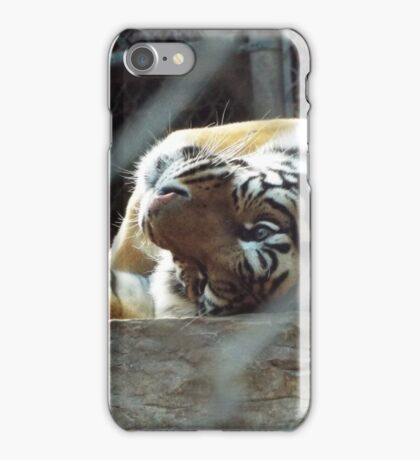 Twirling Tiger iPhone Case/Skin
