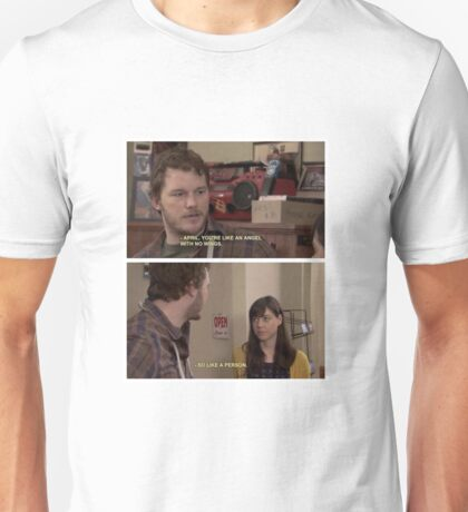 April and Andy - Parks and Recreation Scene Unisex T-Shirt