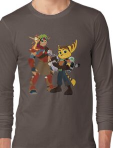 A Boy and His Lombax Long Sleeve T-Shirt