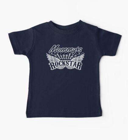 Mommy's little Rock Star Baby Tee
