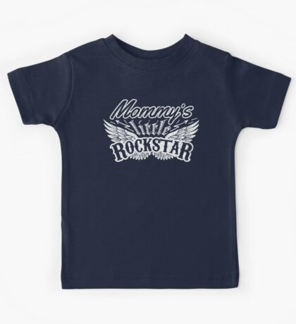 Mommy's little Rock Star Kids Tee