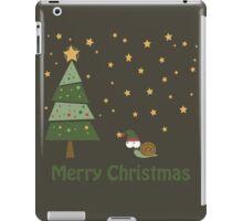 Snail Christmas Scene iPad Case/Skin