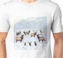 Northern bull elk 2 Unisex T-Shirt