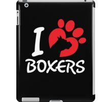 I Love Boxers iPad Case/Skin