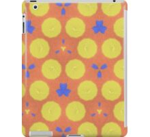 colorful trendy unique pattern iPad Case/Skin