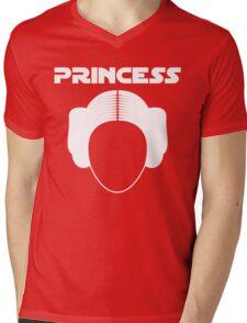 Star Wars Princess Leia Carrie Fisher white Mens V-Neck T-Shirt