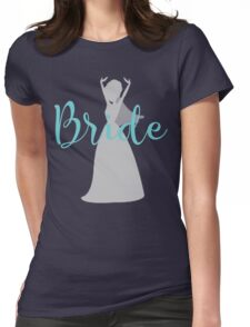 bride Silhuette Womens Fitted T-Shirt