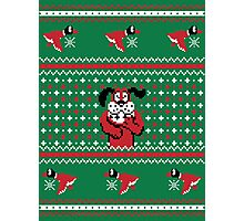 Festive Duck Hunt Sweater Photographic Print