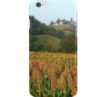 Sorghum country iPhone Case/Skin