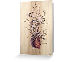 Driftwood Heart 04 Greeting Card