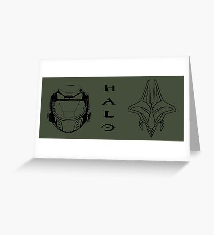 Clash of the Titans - Halo  Greeting Card