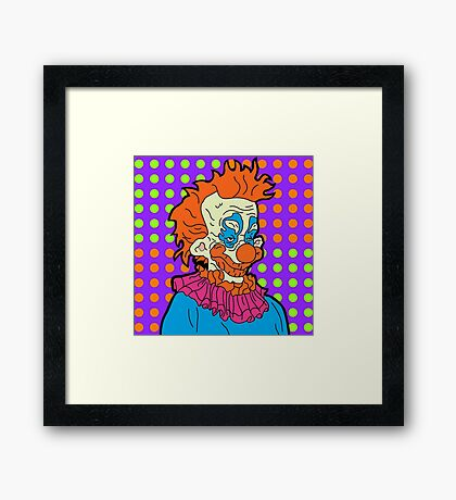 Killer Klown Framed Print