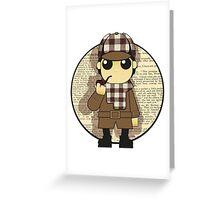 Cute Classics - Sherlock Holmes Greeting Card