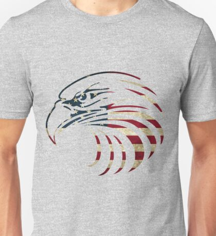 American Eagle Face Unisex T-Shirt