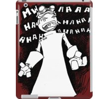Doctor Horrible - Non Transparent Evil Laugh iPad Case/Skin