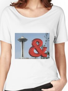 Iconic Seattle Photographs Women's Relaxed Fit T-Shirt