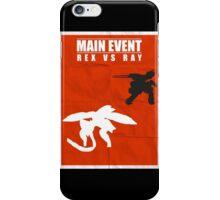 Rex Vs Ray iPhone Case/Skin
