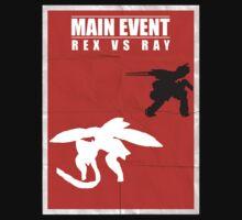 Rex Vs Ray by icedtees