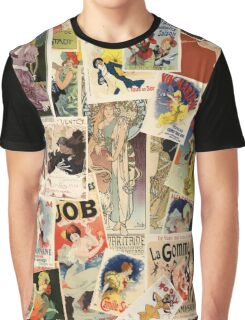 French Photomontage Graphic T-Shirt