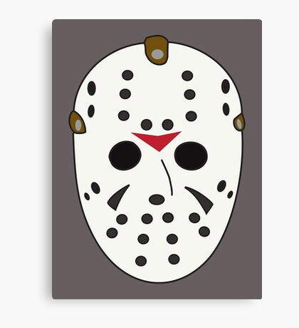 Hockey Mask Canvas Print