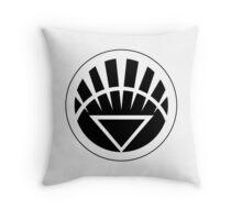 White Lantern Corps Throw Pillow