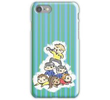 An entire space crew! iPhone Case/Skin
