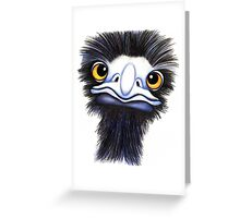 Eddie the Emu Greeting Card