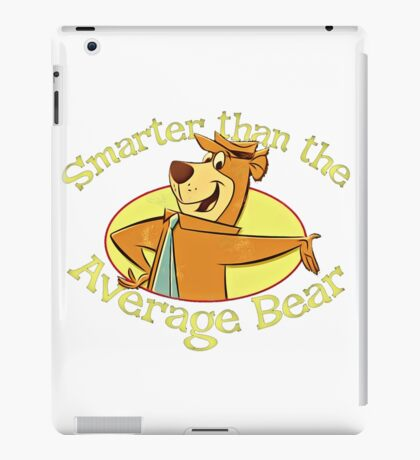Yogi Bear - Smarter than the Average Bear iPad Case/Skin