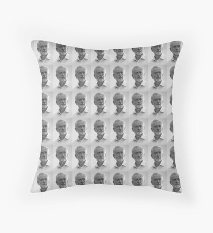 Jeremy Corbyn Merch Throw Pillow