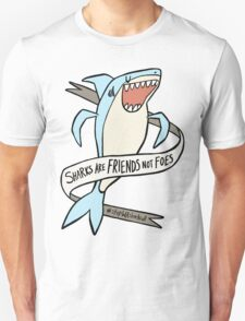 dear premier barnett: sharks are friends, not foes T-Shirt