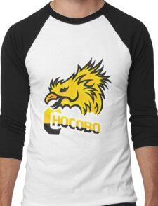TEAM CHOCOBO! Men's Baseball ¾ T-Shirt